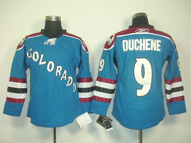 colorado avalanche 9 matt duchene third jersey. colorado avalanchenhlhockeythirdice