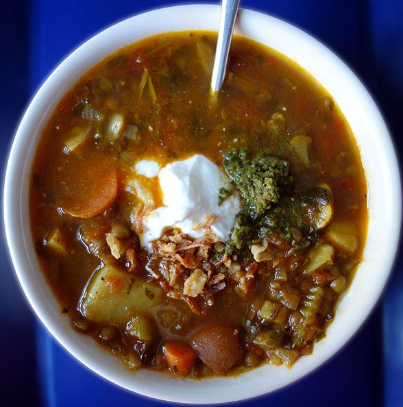 ... : slow carb main meals on Pinterest | Lentils, Saag and Lentil soup