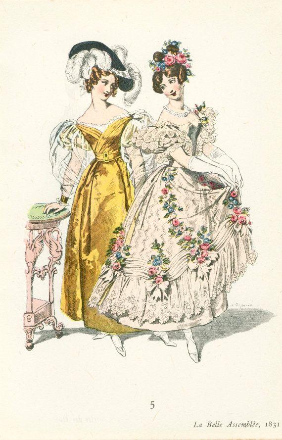 Vintage Fashion Prints 35