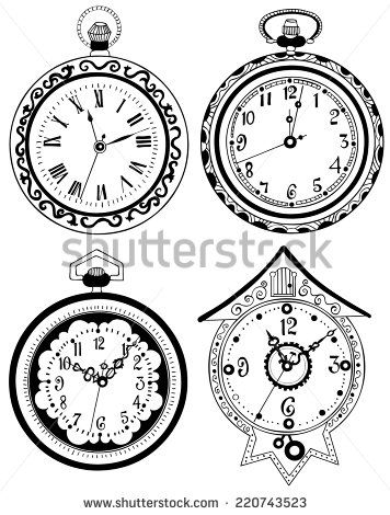 1000 ideas about pocket watch drawing on pinterest for Kati vaughn tattoo