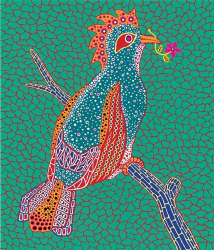 Alice nel Paese delle Meraviglie - disegni di Yayoi Kusama