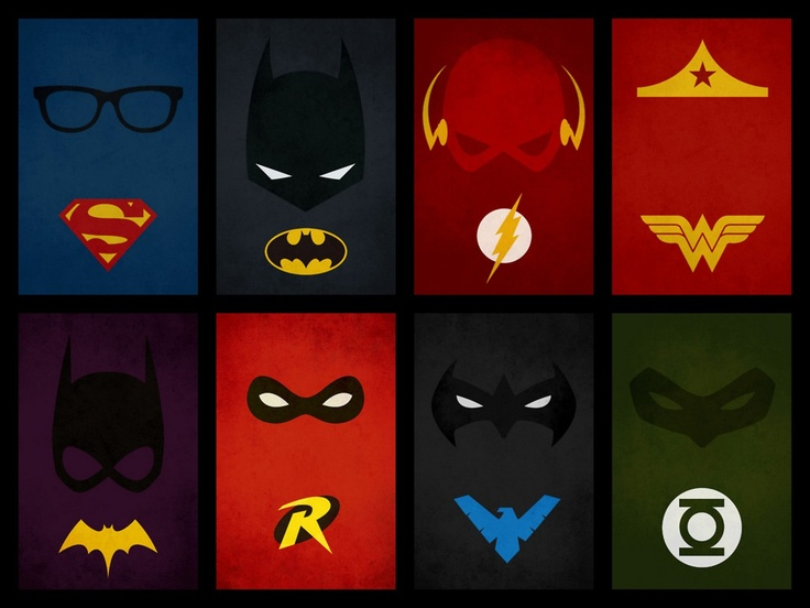 Minimalist superheroes minimalist posters pinterest for Minimal art hero