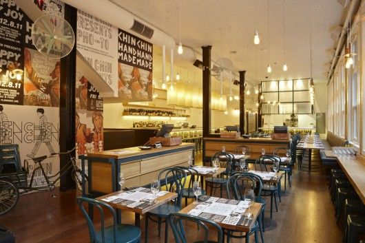 Chin Chin, Melbourne serves a mixed bag of South East Asian fare, from Bangkok to Bangalore; chef Andrew Gimber (ex Jimmy Liks) serves food all day from 11am to the wee hours, which everyone knows is the best time to consume Asian food — all day that is...