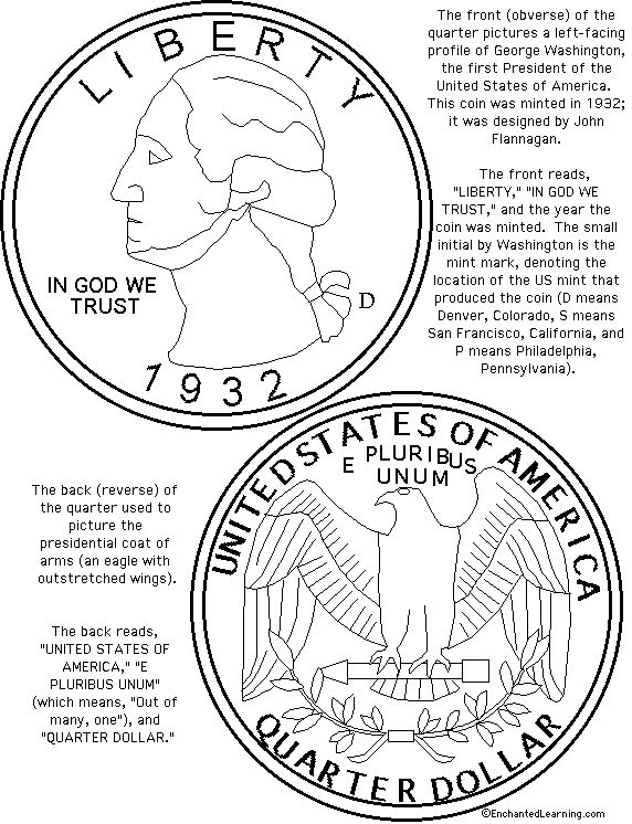 half dollar coin coloring page httpwww