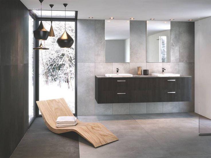 """117 mentions J'aime, 1 commentaires - Schmidt France (@schmidt_france) sur Instagram : """"Dans la salle de bain, le bois sombre du Zonza apporte un contraste inattendu et très stylé !⠀…"""""""