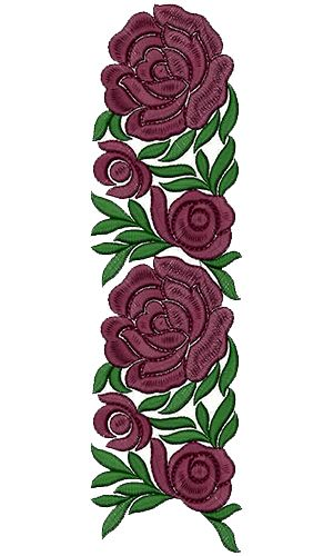Lace Embroidery Design 13218
