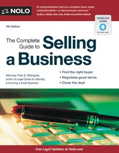 Out there somewhere is a buyer looking to buy a business like yours -- so if you're ready to sell, make sure that you protect your interests and maximize your profit with The Complete Guide to Selling a Business.