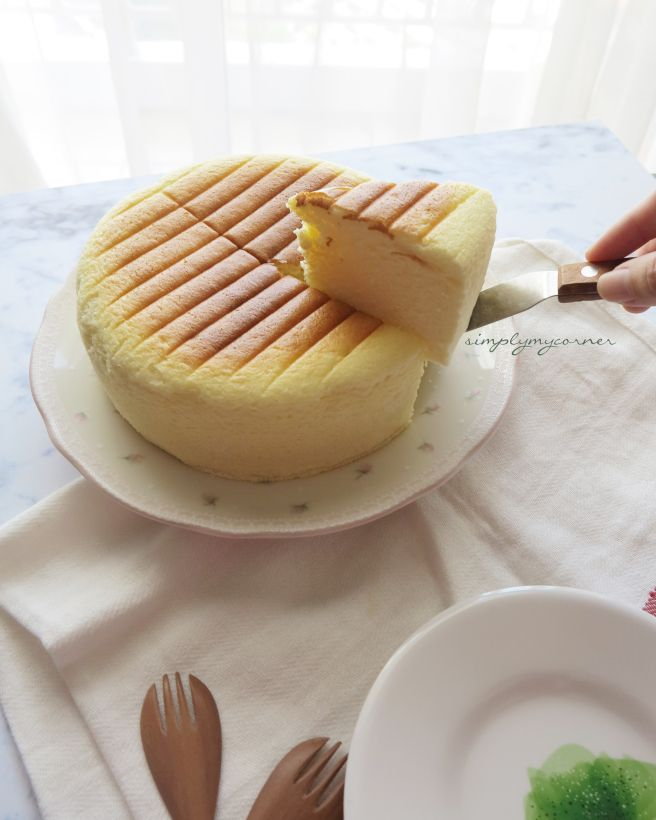Japanase Cheesecake recipe  https://simplymycorner.wordpress.com