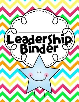 """This """"leadership/ data binder"""" (I have included both covers) is designed for students to keep track of their learning. Research shows that students take ownership of their learning and have intrinsic motivation when they do this! I have included a """"leader in me"""" section that includes the seven habits, 2 quotes, tips for creating a class mission statement, student mission statement page, and a printable for students to use to document how characters or famous people display the 7 habits, and…"""