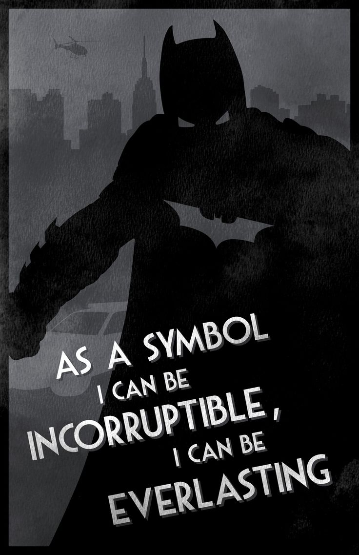 As a symbol i can be incorruptible, i can be everlasting: Dark Night, The Dark Knights, Batman Quotes, The Batman, Graphics Design, Character Design, Batman Beginnings, Quotes Poster, Fans Art