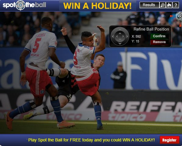 Play Spot the Ball — it's FREE to enter and you could win a holiday > http://dofooty.com/ply9 #SpottheBall