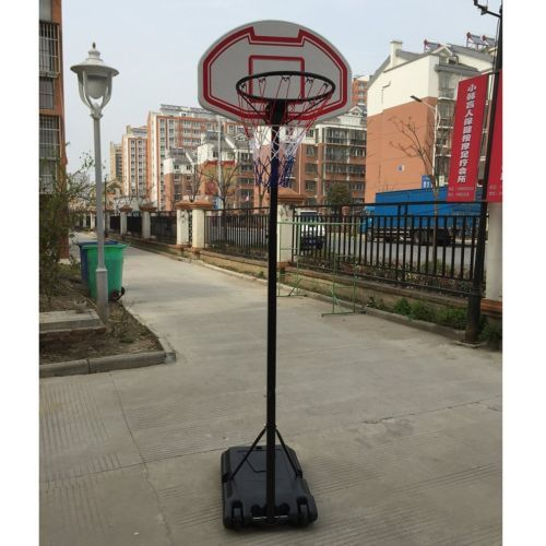 Hot sale ! #portable #netball stand post full size adjustable #garden hoop net sd,  View more on the LINK: http://www.zeppy.io/product/gb/2/142230341256/