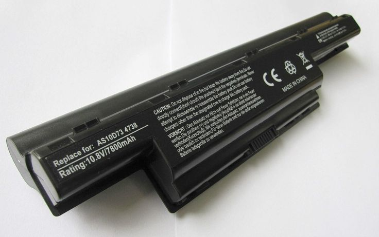 9-Cell Battery for Acer Aspire AS10D73 4738 PEW71 5736Z 5741 5742 5551 5749Z 5750 PSWE0