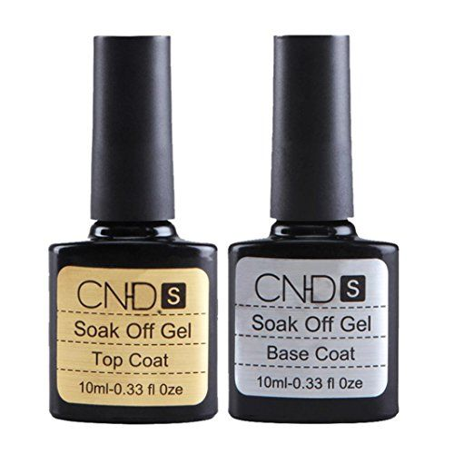 Cosmetics USA - Fenleo 2 pcs Top coat + Base coat Uv Gel Nail Polish Primer Nail Art CNHIDS