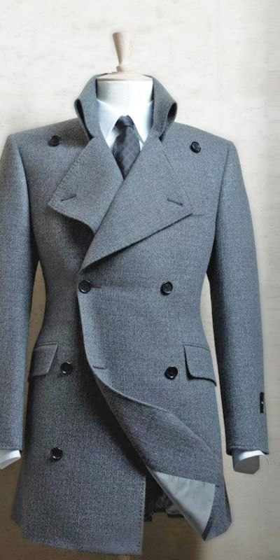 If the Abnegation ever dressed up, this is probably the kind of jacket they'd wear. #divergent #fashion