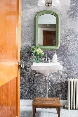 42 best shiplap images on pinterest bathroom ideas room for Etched arcadia mural wallpaper