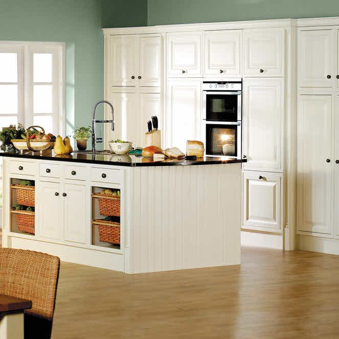 Bovis kitchen choices google search kitchens for Black and cream kitchen cabinets