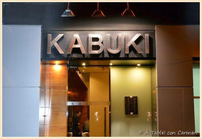 Restaurante Kabuki: Cocina Japonesa con Sello Mediterraneo