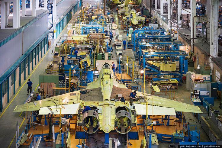 Производство самолетов Су30 и Як130 на Иркутском