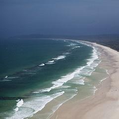 Beach near Byron Bay, NSW, Australia.