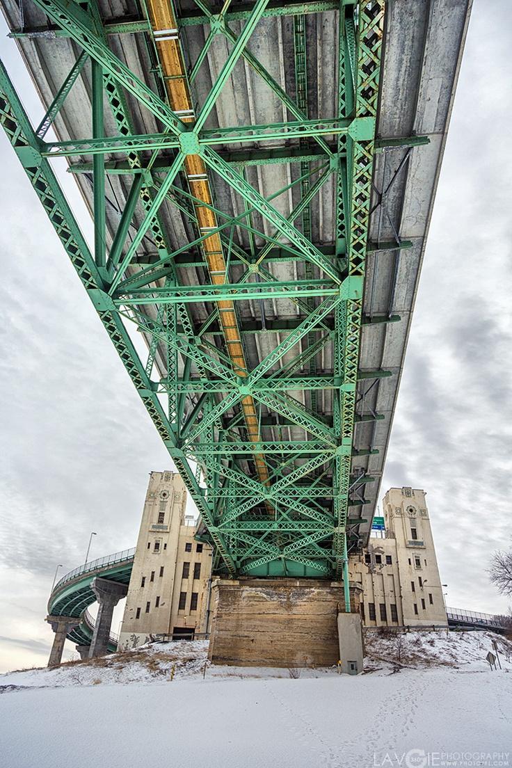 Pont Jacques-Cartier, Montréal, Québec - Jacques-Cartier Bridge, Montreal, Quevec