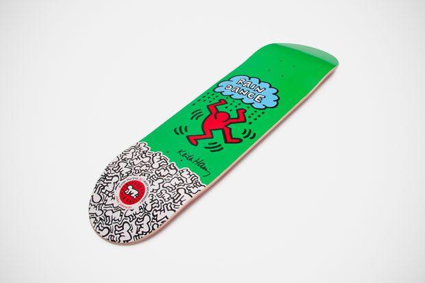 Keith Haring x Alien Workshop Skateboard #skateboard #Alien