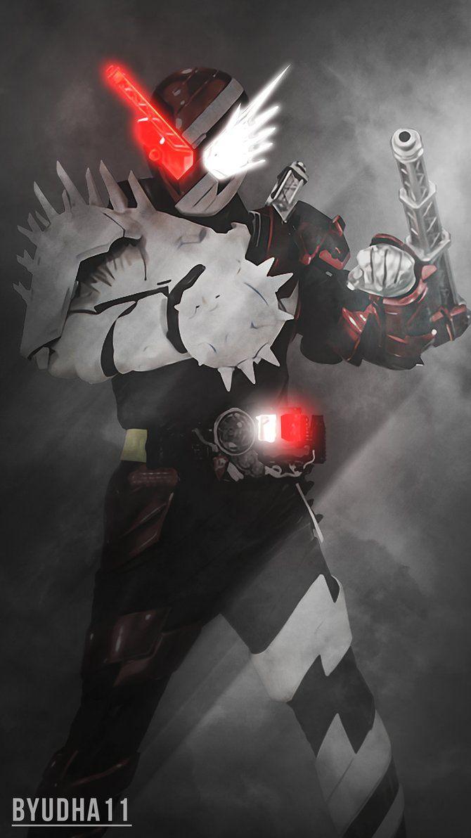 Kamen Rider Build : Fire Hedgehog Wallpaper by Byudha11