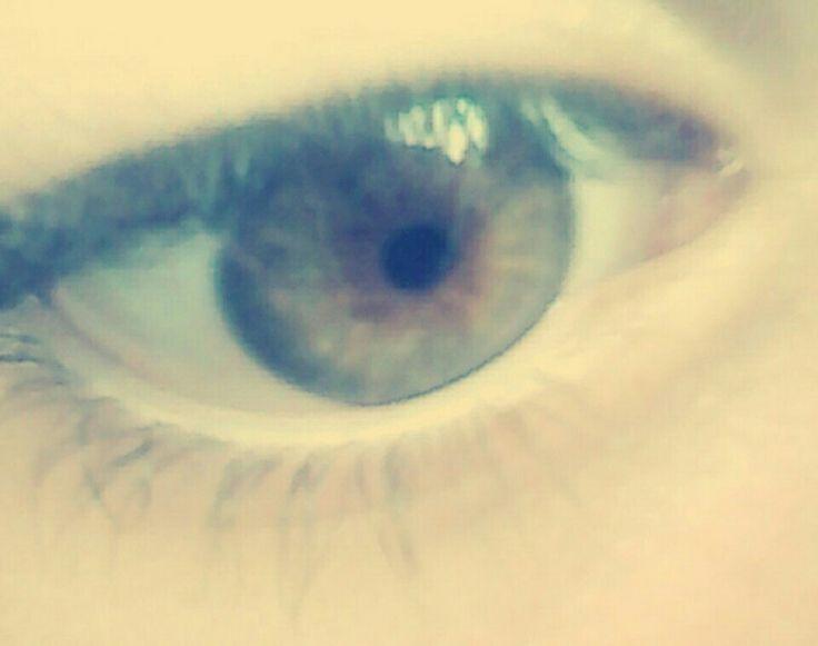 Olhos castanhos esverdeados *-*