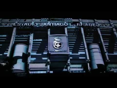 The mapping of the presentation of Real Madrid's new kits for the 2014/15 season at the Bernabéu - YouTube