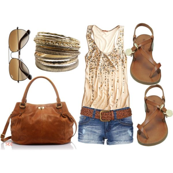 Sequin summer, created by coombsie24 on Polyvore