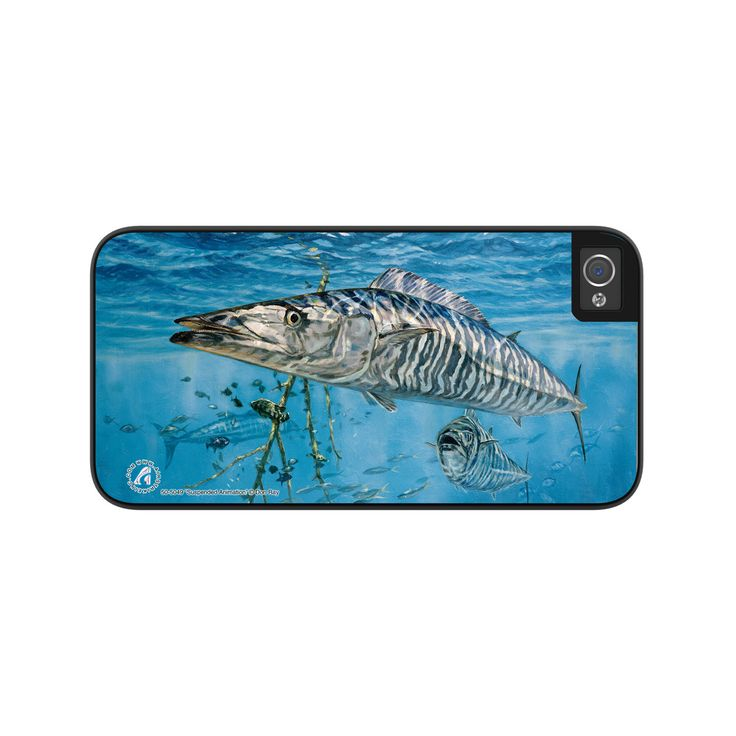 """Airstrike® 50-5049-""""Suspended Animation"""" Fishing Wahoo iPhone 5 Case, Wahoo iPhone 5s Case, Wahoo Protective Wahoo Phone Cases"""