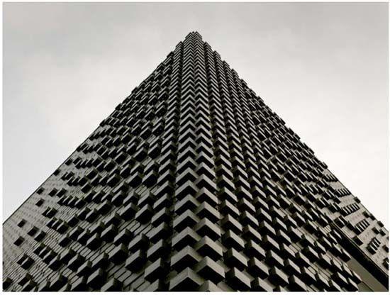 House Ijburg - Large Black Monolith