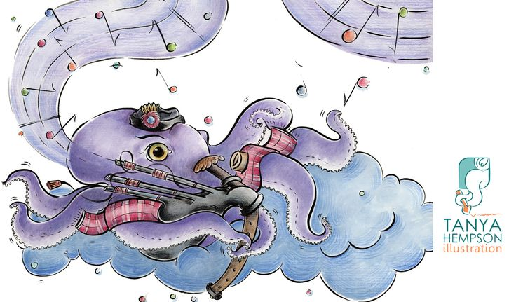 Octopus + Bagpipes