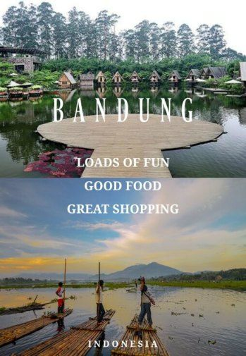 Loads of Fun, Good Food and Great Shopping In Bandung: Bandung is well-known for its cooler climate, great food and fun things to do. The 3rd largest city of Indonesia is fast becoming a popular destination.