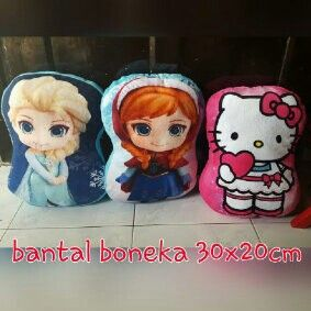 #bantal #boneka bhn yelvo, uk.35x20cm @ 70.000