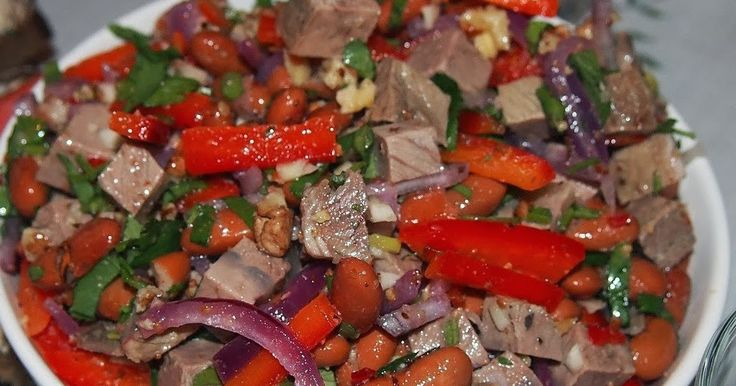 Самый вкусный салат Тбилиси