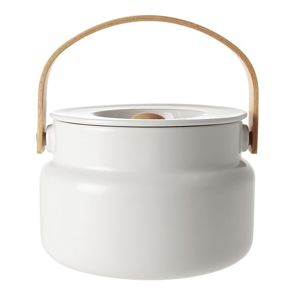 Marimekko Oiva White Serving Pot SKU: 244964  $65.00