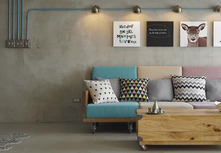 stile-eclettico-casa-trasformabile-taipei-salotto