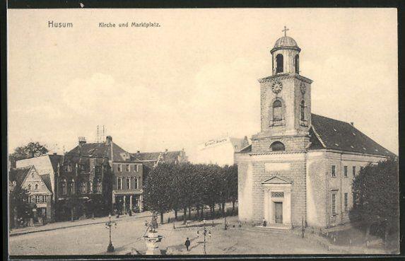 Hüsem / Husum (Schleswig-Holstein, Kreis Nordfriesland) - Kirche
