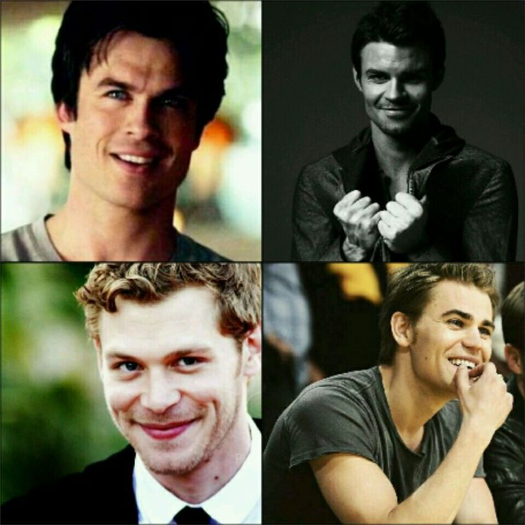 Mikaelson brothers & Salvatore brothers