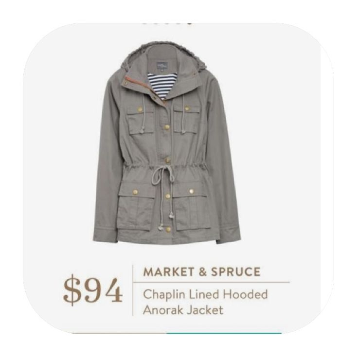 Loving this grey anorak jacket. Lightweight but just enough for those cool fall days.  Stitch fix fall 2016. Stitch fix fall fashion. #Affiliate #StitchFixInfluencer