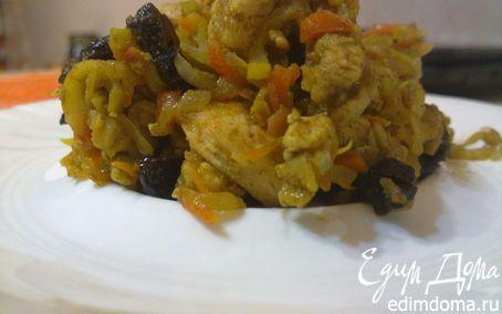 Курица карри в пароварке   Кулинарные рецепты от «Едим дома!»