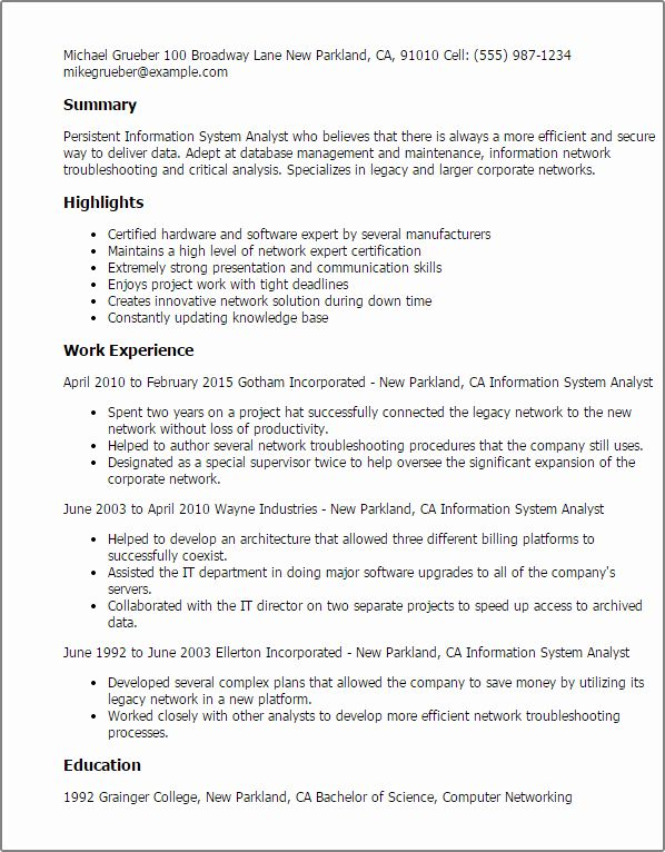 Entry Level Business Analyst Resume New Entry Level Business Analyst Resume Business Analyst Resume Sample Resume Templates Resume Template Professional