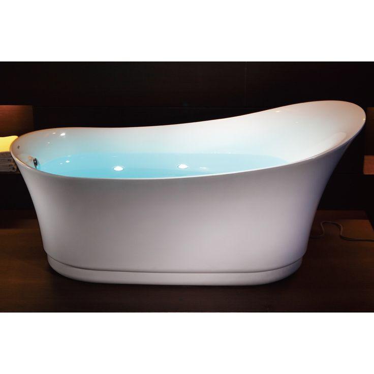 39 best Bathtubs images on Pinterest   Kingston brass, Bathtubs ...
