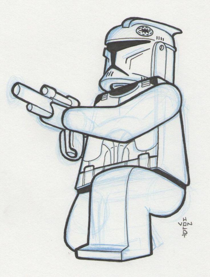 Doodle 460 LEGO Clone Trooper