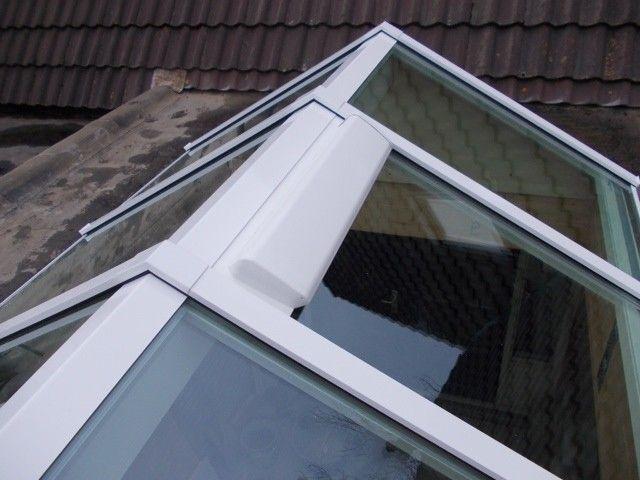 Luxlight ventilatierooster platdakraam lichtstraat glazen lichtkoepel