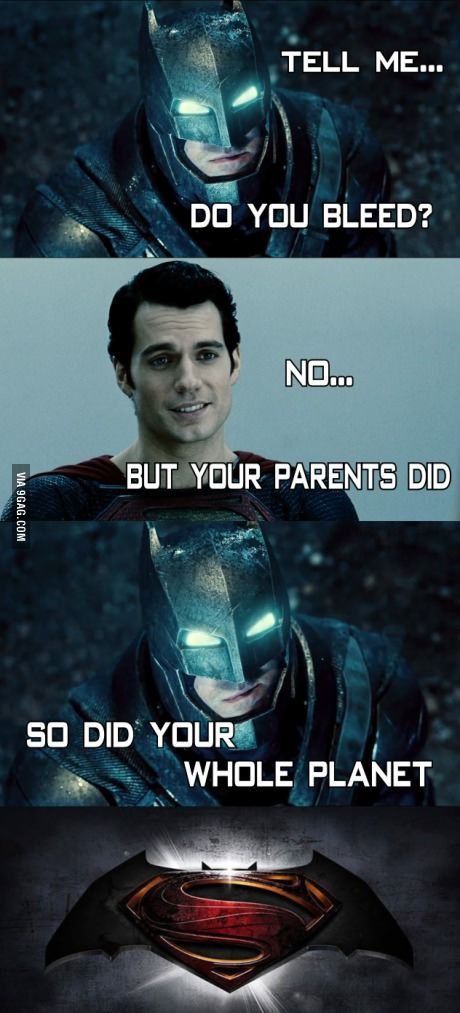 So it begins. Batman v. Superman