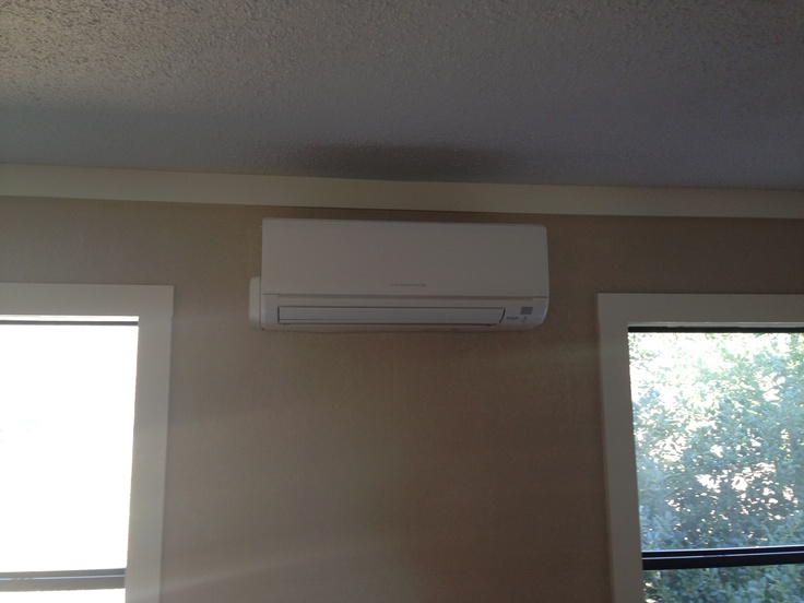 1000 images about mitsubishi ductless systems on for In wall heating system