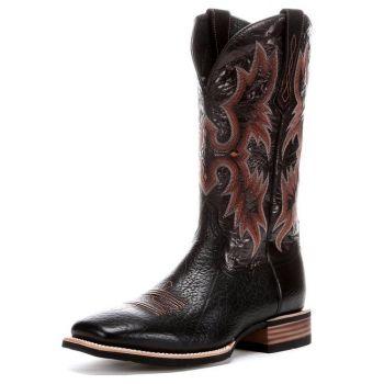 Bota Masculina Importada Tombstone Boot - Black - O Toro