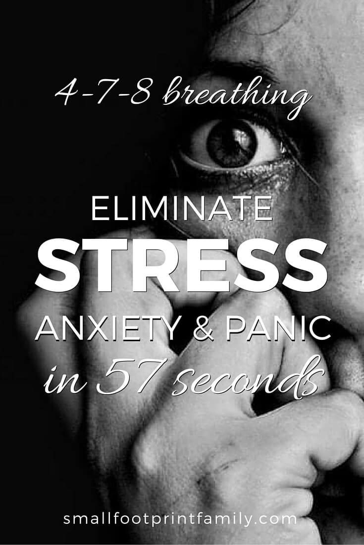 The 4 7 8 breathing technique takes the shallow, oxygen poor, carbon dioxide rich breathing you do when you are stressed out, and turns it upside down, giving you quick relief from anxiety, panic and stress. Click to learn how to do it!